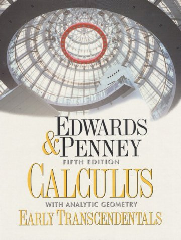 9780137930760: Calculus with Analytic Geometry-Early Transcendentals Version (5th Edition)
