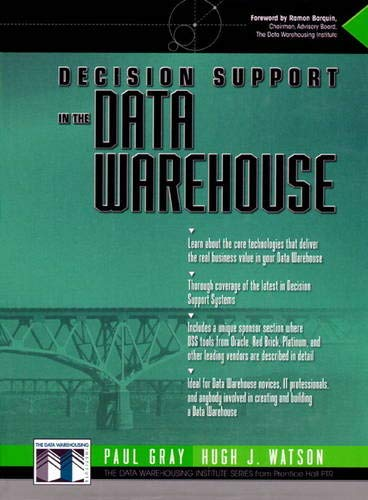 9780137960798: Decision Support in the Data Warehouse (The Data Warehousing Institute Series)