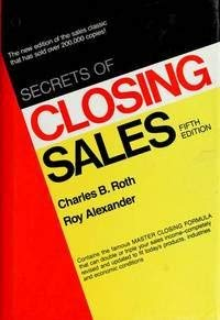9780137979103: Secrets Closing Sales