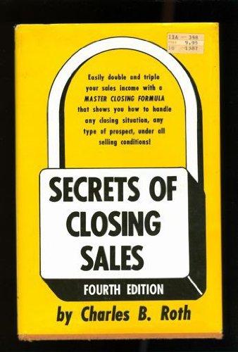 9780137979691: Title: Secrets of Closing Sales