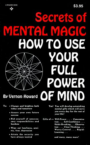 9780137979851: Secrets of Mental Magic: How to Use Your Full Power of Mind