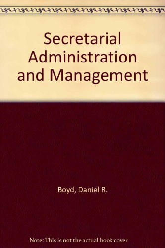 9780137982653: Secretarial Administration and Management