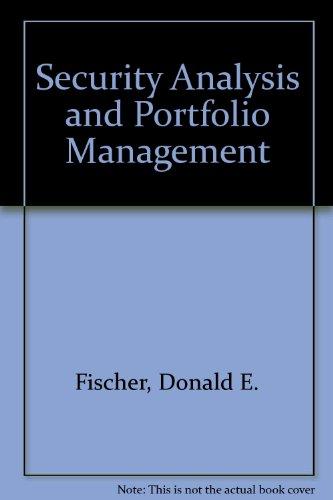 security analysis and portfolio management case study