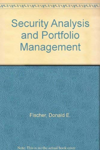 9780137991495: Security Analysis and Portfolio Management