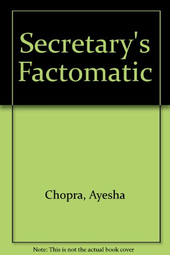 9780137993130: Secretary's Factomatic