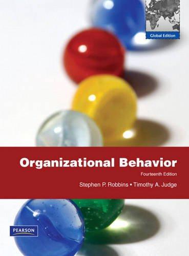 9780138000400: Organizational Behavior:Global Edition