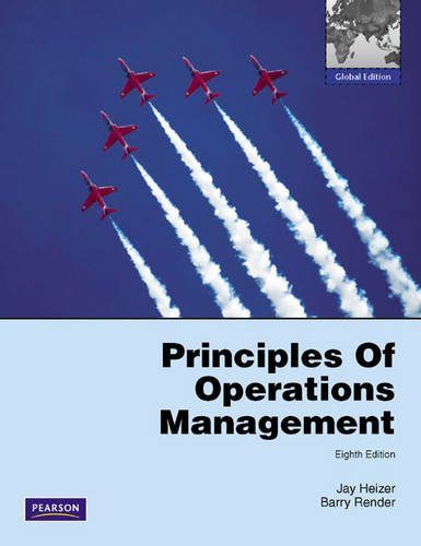 Principles of Operations Management: Jay Heizer