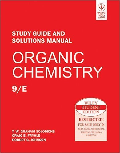 9780138001605: Organic Chemistry: Study Guide and Solutions Manual, 7th Edition