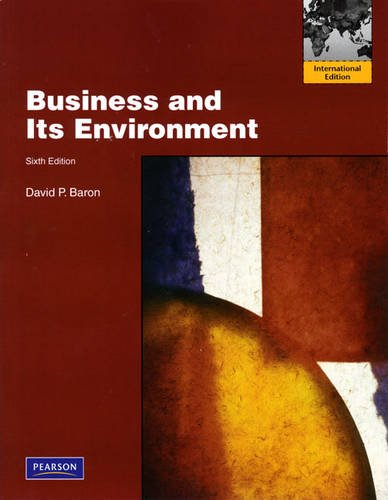 9780138005061: Business and Its Environment