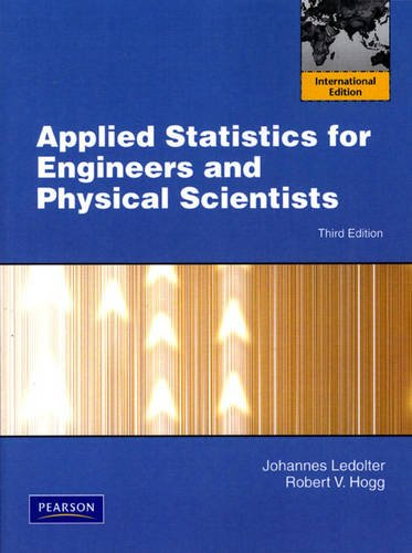 9780138005672: Applied Statistics for Engineers and Physical Scientists
