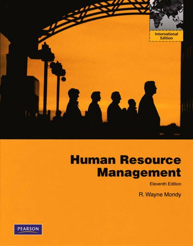 9780138005689: Human Resource Management: International Edition