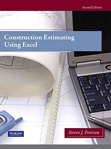 9780138007195: Construction Estimating Using Excel (2nd Edition)