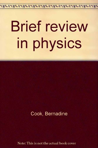 9780138008550: Brief review in physics