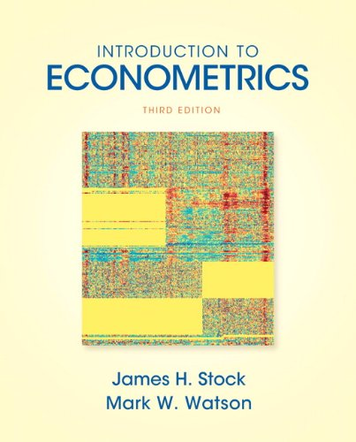 Introduction to Econometrics (3rd Edition) (Addison-wesley Series: STOCK