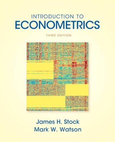 9780138009007: Introduction to Econometrics (3rd Edition) (Addison-wesley Series in Economics)