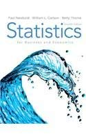 9780138009656: Statistics for Business and Economics & MathXL Student Access Card Package (7th Edition)