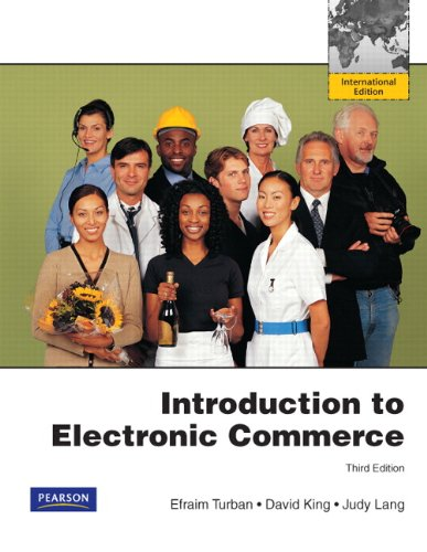 an introduction to the history of the electronic commerce The term electronic commerce (or e-commerce) refers to the use of an electronic medium to carry out commercial transactionsmost of the time, it refers to the sale of products via internet, but the term ecommerce also covers purchasing mechanisms via internet (for b-to-b.