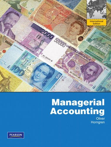 9780138011789: Managerial Accounting