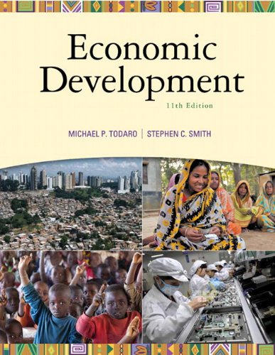 9780138013882: Economic Development (11th Edition) (The Pearson Series in Economics)