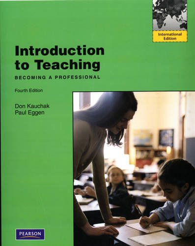 9780138016876: Introduction to Teaching Becoming a Professional