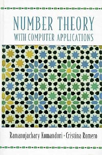 9780138018122: Number Theory with Computer Applications