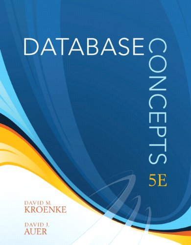 9780138018801: Database Concepts (5th Edition)