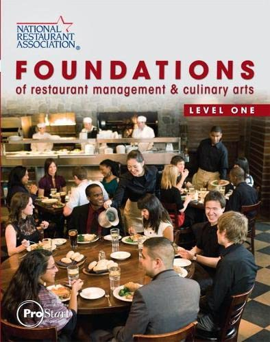9780138019389: Foundations of Restaurant Management & Culinary Arts: Level 1