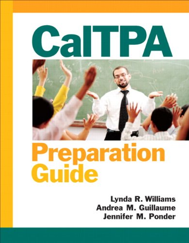 9780138021771: CalTPA Preparation Guide