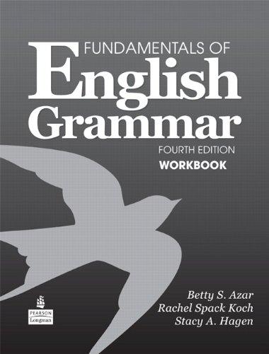 9780138022129: Fundamentals of English Grammar Workbook, 4th Edition