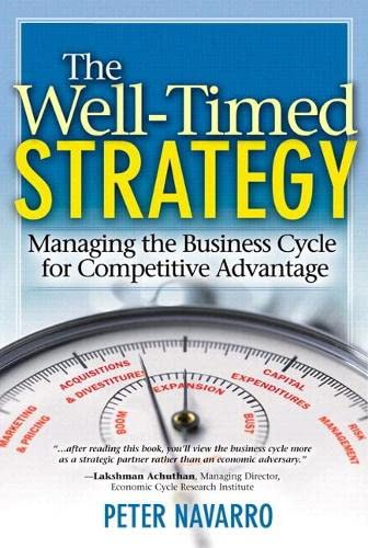 9780138022921: The Well-Timed Strategy: Managing the Business Cycle for Competitive Advantage (paperback)