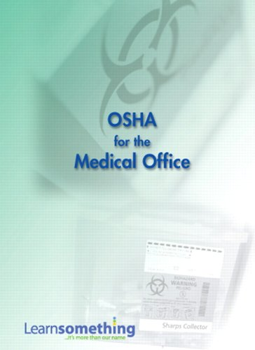 9780138023065: OSHA for the Medical Office (CD-ROM version)