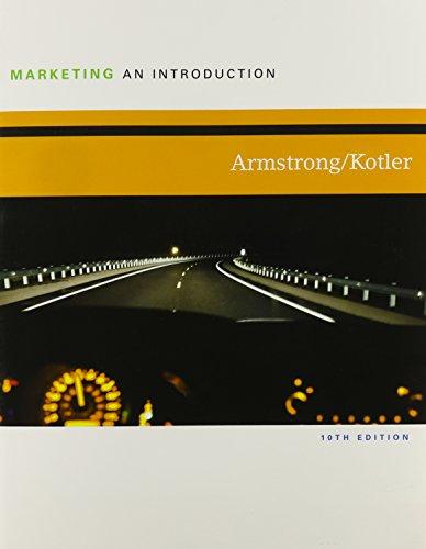 Marketing: An Introduction (with MyMarketingLab & Pearson