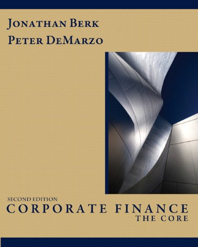 9780138023928: Corporate Finance: The Core & Myfinancelab Student Access Code Card