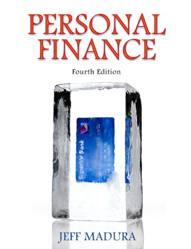 9780138023942: Personal Finance & MyFinance Student Access Code Card (4th Edition)