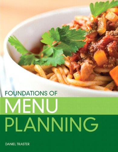 9780138025106: Foundations of Menu Planning