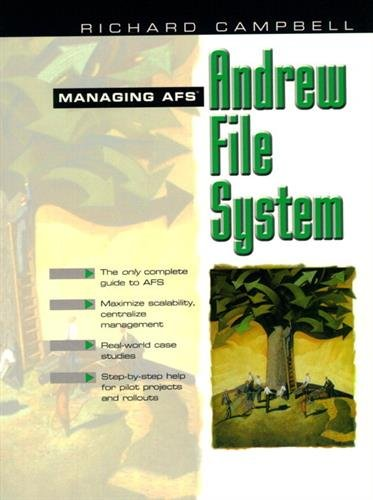 9780138027292: Managing AFS: The Andrew File System