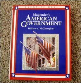 9780138028442: Magruders American Government 1994