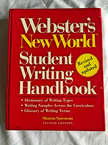 9780138048570: Webster's New World Student Writing Handbook