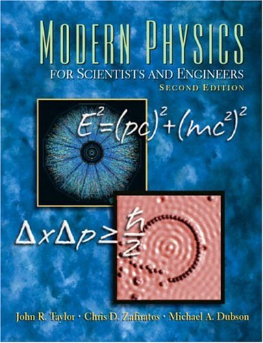 9780138057152: Modern Physics for Scientists and Engineers (2nd Edition)