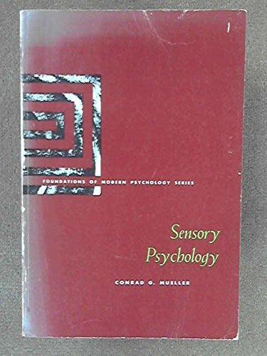 9780138066796: Sensory Psychology
