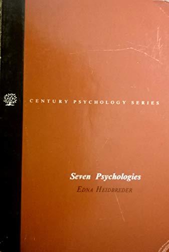 9780138073541: Seven Psychologies (The Century psychology series)