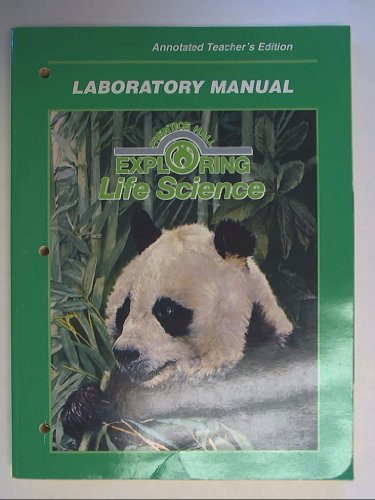Prentice Hall Exploring Life Science: Laboratory Manual,: Anthea Maton