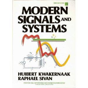 Modern Signals and Systems/Book and Disk (Prentice: Kwakernaak, Huibert; Sivan,