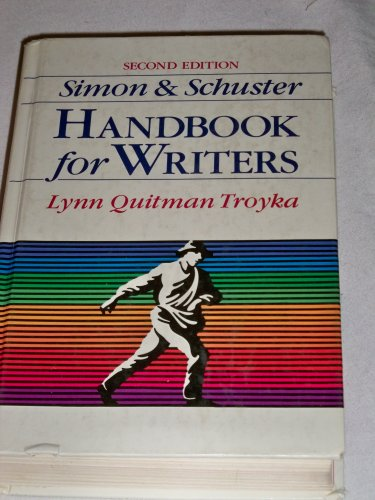 9780138094768: Simon & Schuster Handbook for Writers Second Edition