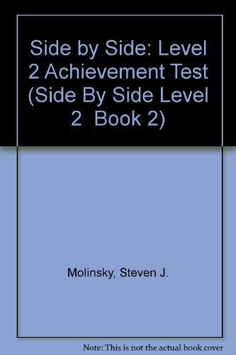 9780138122232: Side by Side: Test Package 2 : Midterm Test and Final Test (Side by Side Level 2 Book 2)