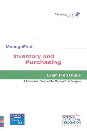 9780138126902: Test Prep ManageFirst Inventory and Purchasing