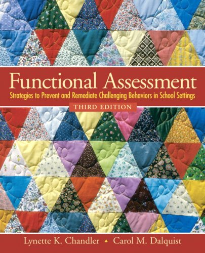 9780138126926: Functional Assessment: Strategies to Prevent and Remediate Challenging Behavior in School Settings (3rd Edition)