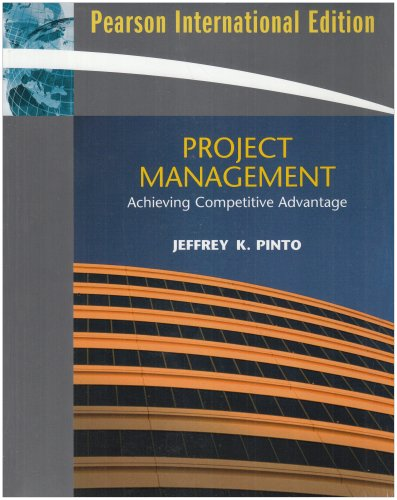9780138129323: Project Management: Achieving Competitive Advantage and MS Project: International Edition