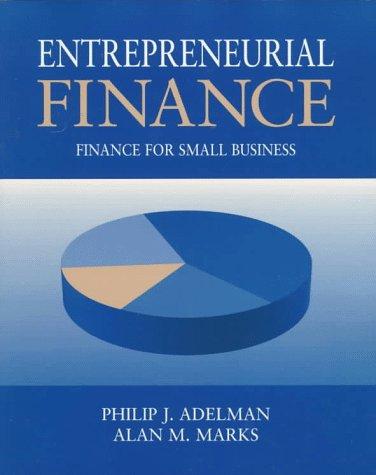 9780138129835: Entrepreneurial Finance: Finance for Small Business