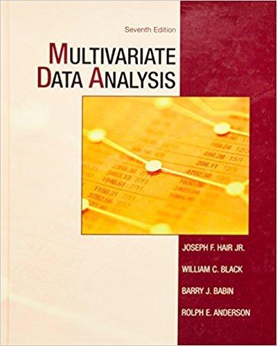 9780138132637: Multivariate Data Analysis (7th Edition)